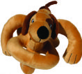 Loopies soundchip barking dog toy